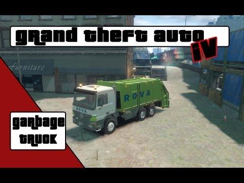 GTA 4 Garbage truck (Rova)