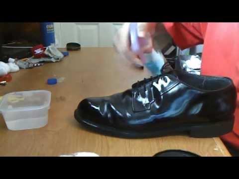 Best Way To Shine Jrotc Shoes