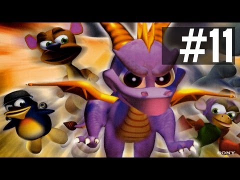 Spyro: Year of the Dragon: SHARK SUB BATTLE w/ Ze - Ep. 11