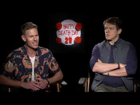 Happy Death Day 2U || Jason Blum & Christopher Landon Junket Interview || #SocialNews.XYZ