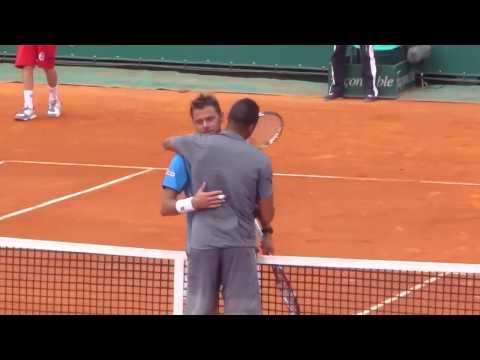 Tsonga balle de match vs Stanislas Wawrinka Monte-Carlo Masters