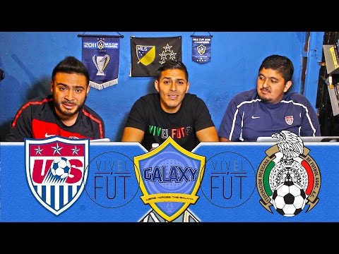 USA vs MEXICO 2015 Rose Bowl California NAG News Across the Galaxy Preview w/ Vivelfut