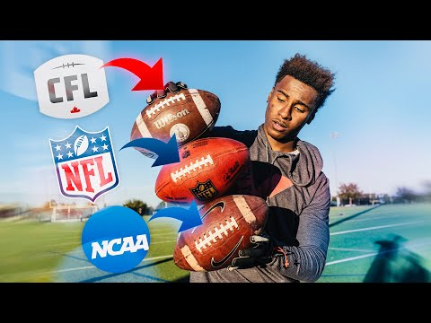 NFL Football vs. CFL Football vs. NCAA College Football.. Which Is Better? (INSANE Experiment) MP3