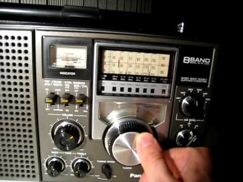Panasonic RF-2200 AM Dxing.