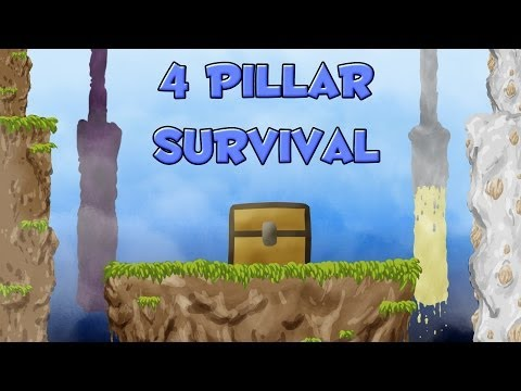 Desafio Dos 4 Pilares - MISTÉRIOS E MILAGRE (ft. Derpp_craft)