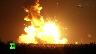 NASA rocket explodes seconds after launch in Virginia Image