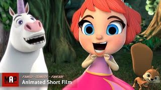 "CGI 3D Animated Short Film ""TONE DEAF"". Cute & Funny Animation Kids Cartoon by Ringling College"
