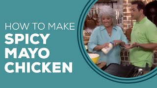 Roasted Spicy Mayo Chicken Breasts - Blast from the Past