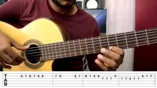 Enrique Iglesias - Bailando Guitarra Cover Con TAB