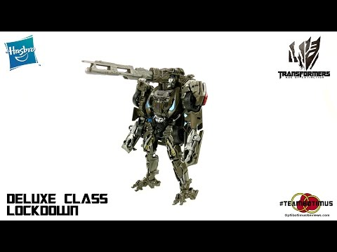 Video Review of the Transformers Age of Extinction: Deluxe class Lockdown