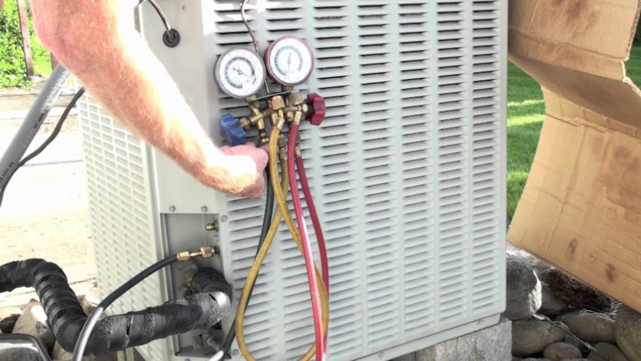 how to hook up a vacuum pump