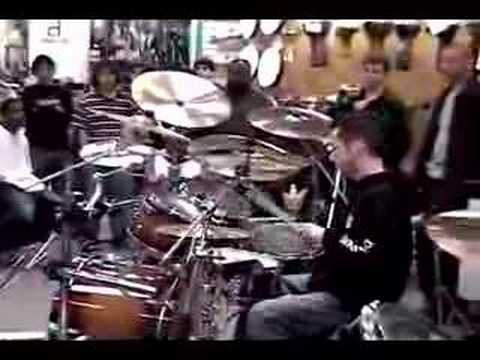 Sick drum solo