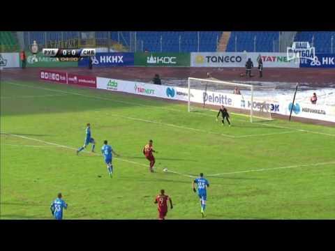 Обзор матча Рубин-Сибирь