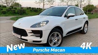 Porsche Macan 2019 - FIRST quick look in 4K | Better than Mercedes GLC?