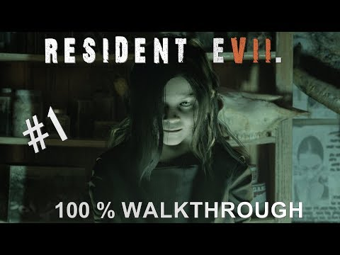 Resident Evil 7 100% Walkthrough Madhouse (All items,Coins,Mr Everywhere and Files) Part 1