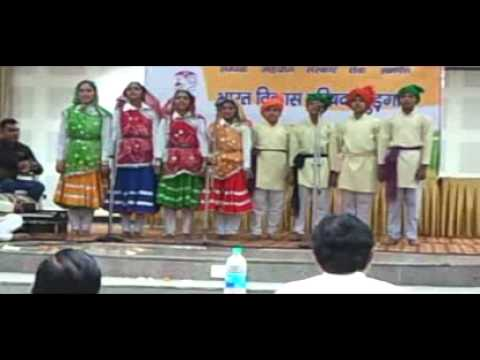 Best Haryanvi Song Folk Group By Virender At Bharat Vikas Parishad video