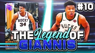 THE LEGEND OF GIANNIS #10 - BEST UPGRADES TO THE SQUADS YET!! NBA 2K19 MYTEAM