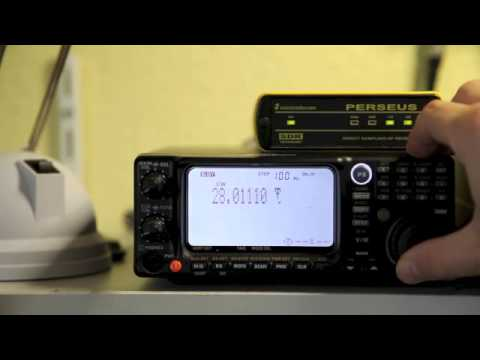 Yaesu VR-5000 auf Kurzwelle