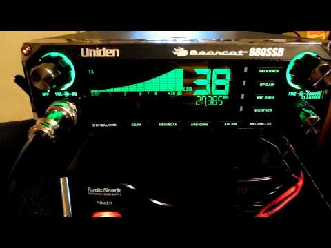 Uniden Bearcat 980 SSB    Good contact with 1183 3-4-15