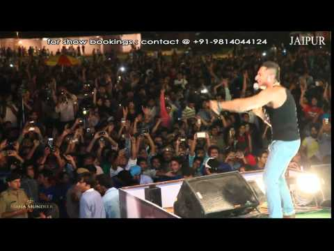 Yo Yo Honey Singh & Mafia Mundeer  Jaipur video