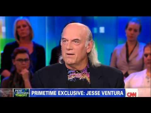 Jesse Ventura vs. Piers Morgan on CNN Sept.17th, 2012 (Full Length Interview)