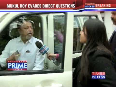 Mamata Banerjee's Aide, Mukul Roy Evades TIMES NOW's