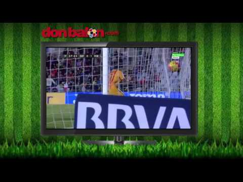 Getafe 0 - FC Barcelona 2 - LIga BBVA