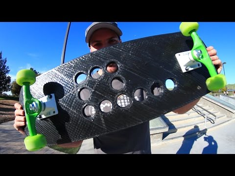 WILL THE 3D PRINTED SKATEBOARD BREAK?