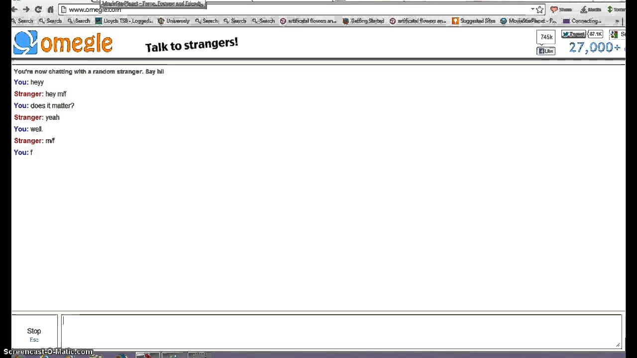 omegle norge time