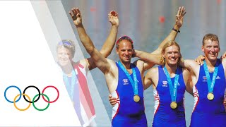 Steve Redgrave Wins Gold - Coxless Four | Sydney 2000 Olympics