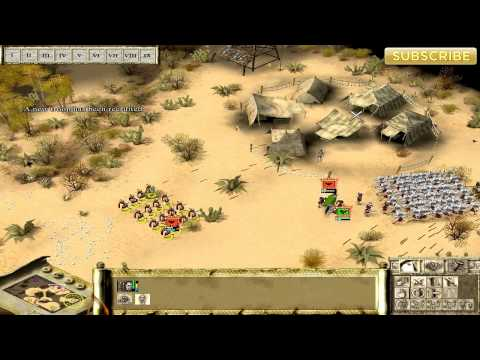 Praetorians Gameplay: Skirmish vs Easy CPU