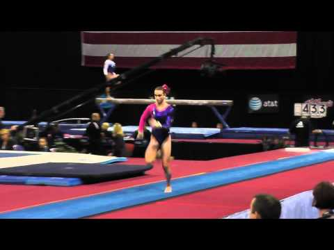 Amanda Jetter - Vault - 2012 Visa Championships - Sr Women - Day 2