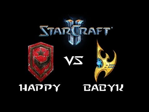 StarCraft 2 - Happy [T] vs BabyKnight [P] (Commentary)