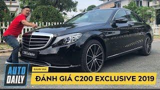 Đánh giá nhanh Mercedes C200 Exclusive 2019 giá 1,7 tỷ đồng |AUTODAILY.VN|