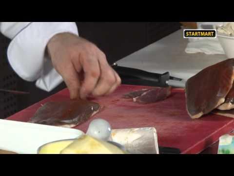 12.Французская кухня. Салат из утиной грудки