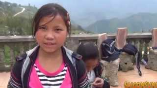 Cô gái H'Mông tại Sapa nói tiếng Anh như Gió