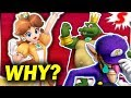 Why is Daisy in Super Smash Bros Ultimate? The REAL Reasons
