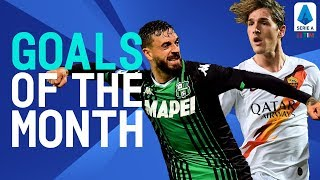 Zaniolo's Wonderful Strike & Caputo's Stunner! | Goals Of The Month | November 2019 | Serie A