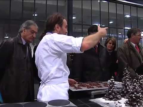 Patrick Roger : le chocolatier et Oso.