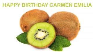 Carmen Emilia   Fruits & Frutas - Happy Birthday