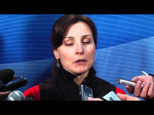 2012 Ford World Women&#039;s Curling Championship Tie-Breaker Media Scrum