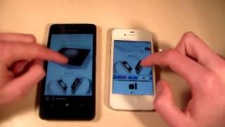 Microsoft Lumia 550 vs iPhone 4S