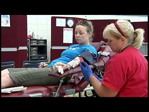 Donating Blood – Shaw TV Nanaimo