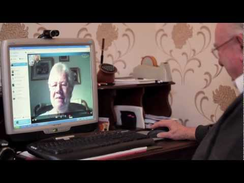 Joint Age UK 2013 Internet Champion James Perry aged 92 explains why he loves the internet
