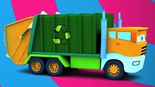 Truk Sampah Formasi dan Penggunaan | Kids Toy | Learn Vehicles | Garbage Truck Formation and Uses