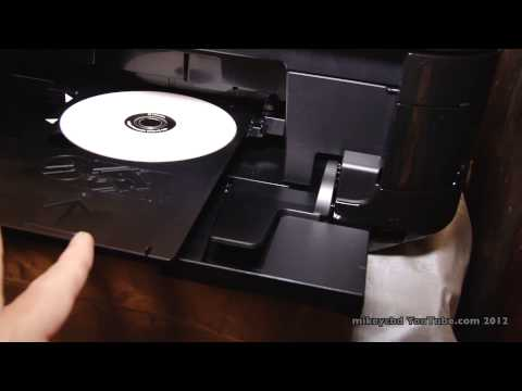 iMac and Canon DVD Printing mg5300 Printable DVDs