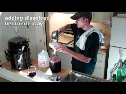 Making a Gallon of Red Wine from Welch's Grape Juice Concentrate - Part 1 of 2