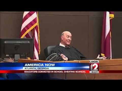 Teachers in Atlanta cheating scandal convicted