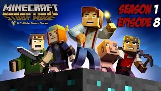 Minecraft Story Mode - Season 1 - Episode 8 - Game Movie