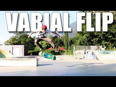 How To Varial Kickflip